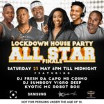 Dj Fresh Lockdown House Party 23 May 2020